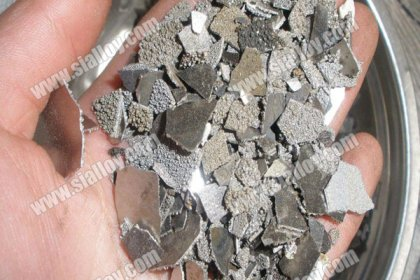 electrolytic manganese metal flakes production