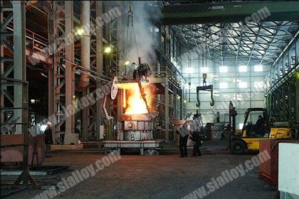production of silicon metal